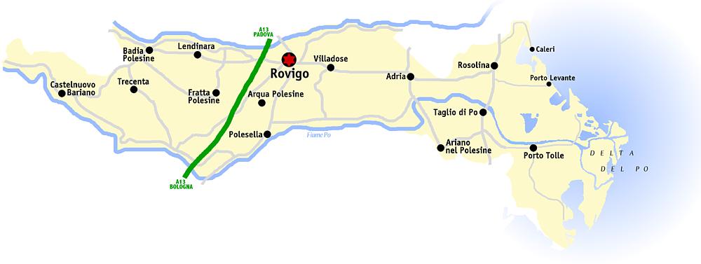 Polesine provincia Rovigo