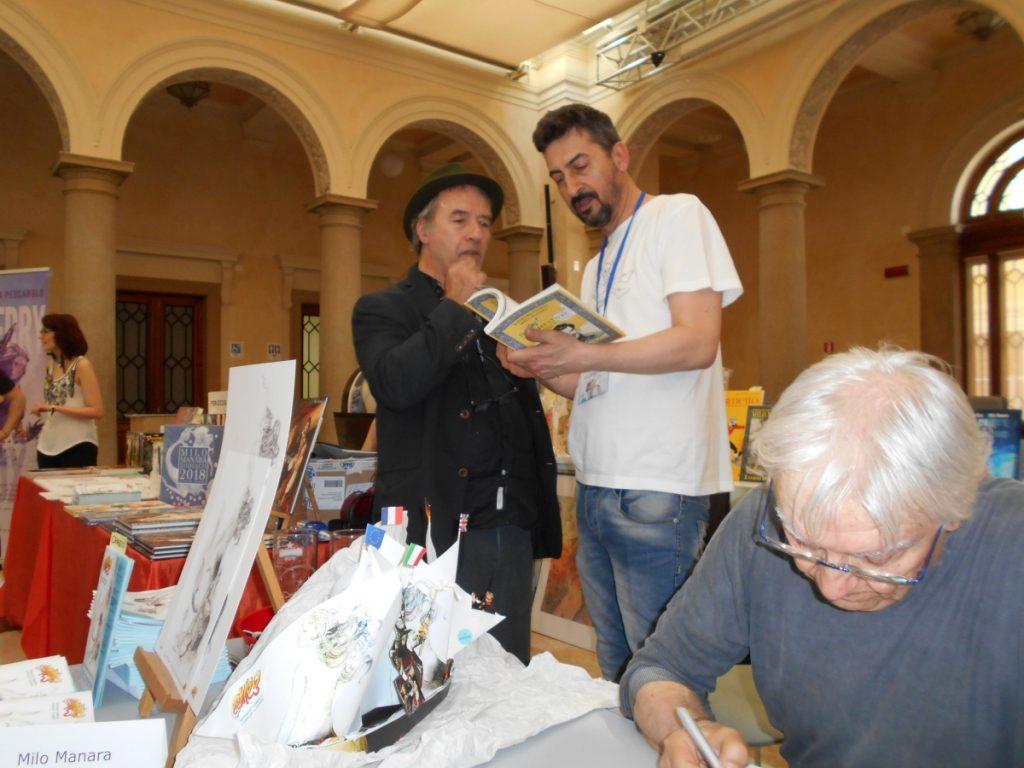 Milo Manara e David Riondino a Rovigo Comics