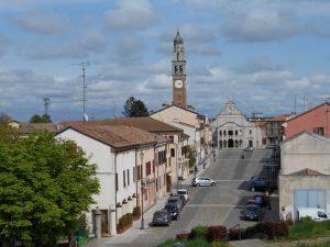 piazza della libertà, Castelmassa