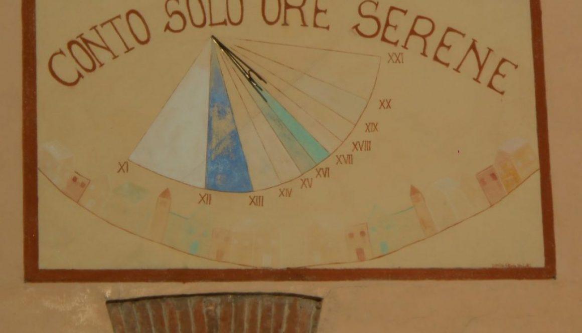 meridiana conto solo ore serene Costa di Rovigo