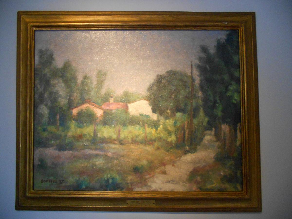 Ardengo Soffici, crepuscolo estivo, 1937, Collezione Balzan, Badia Polesine
