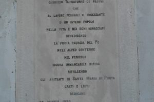 Taumaturgo, Sant'Antonio da Padova, oratorio di Sant'Antonio, Santa Maria in Punta, Ariano nel Polesine