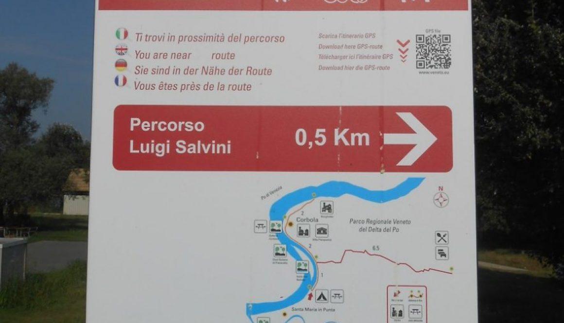 percorso Luigi Salvini, Corbola