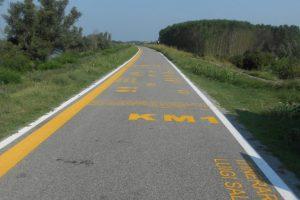 percorso itinerario Luigi Salvini, Corbola