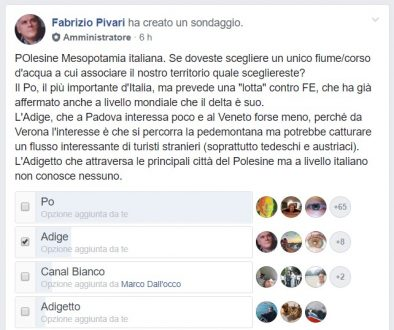 POlesine, Po, Adige, Canal Bianco, Adigetto