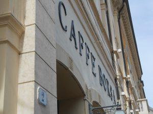 storico caffè borsa piazza Garibaldi Rovigo