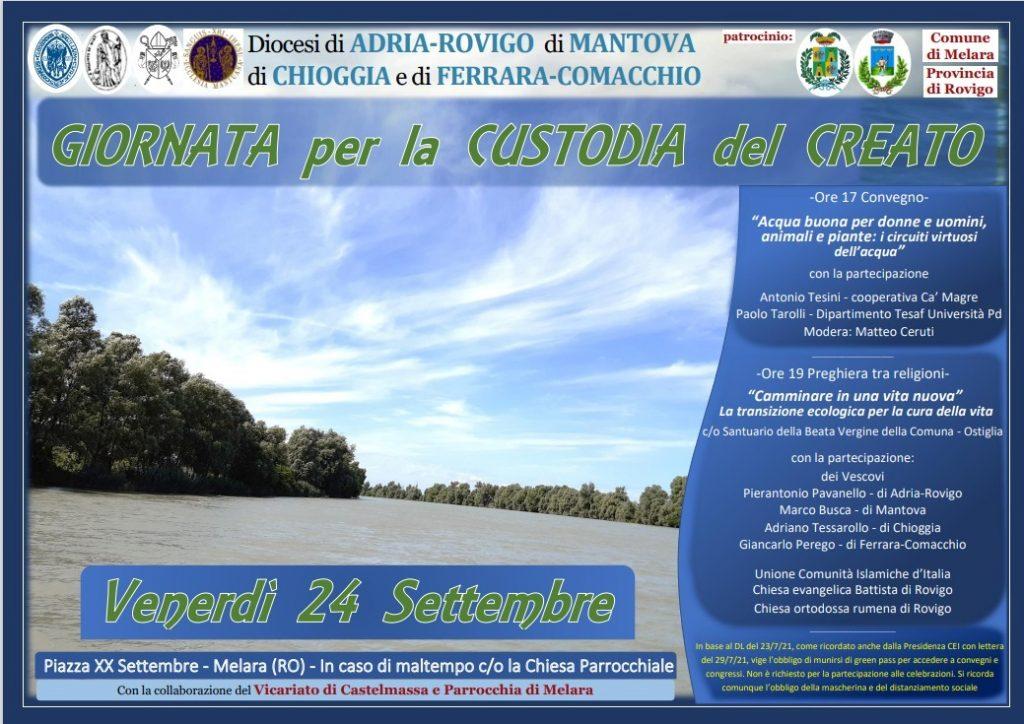 Giornata per la custodia del Creato 2021