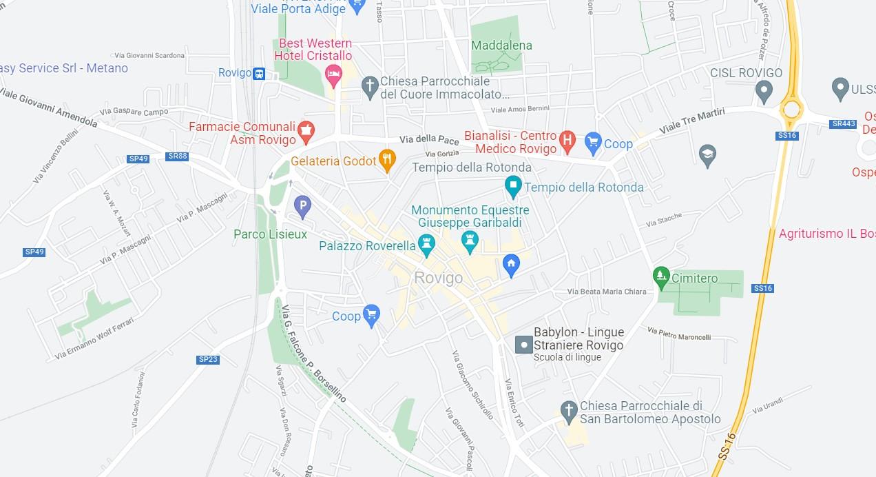 verde urbano Rovigo